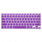 "Protective Silicone Keyboard Cover for MacBook Air 13.3"" / 13.3"" Retina / 15.4"" Retina - Purple"