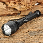 XiaoYingHao ZY-902 750lm 5-Mode White Flashlight w/ Cree XM-L T6 - Black (2 x 18650)