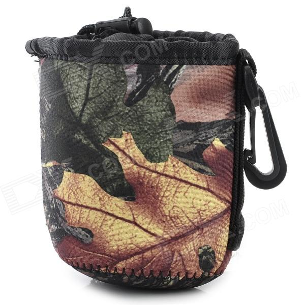 LYNCA MT-S Fashion Thicken Anti-shock Neoprene Bag for Lens / Cameras - Camouflage (S)