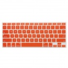 "Protective Silicone Keyboard Cover for MacBook Air 13.3"" / 13.3"" Retina / 15.4"" Retina - Orange"