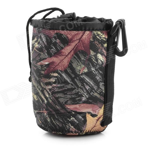LYNCA MT-M Fashion Thicken Anti-shock Neoprene Bag for Lens / Cameras - Camouflage (M)