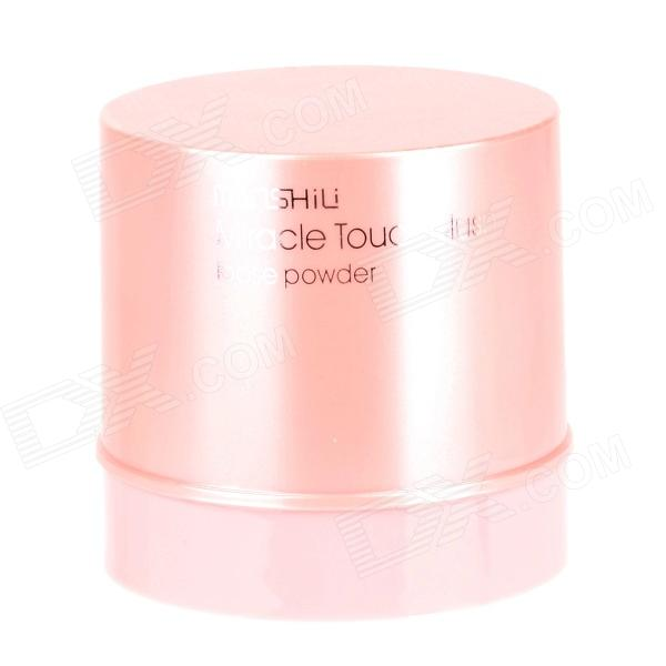 MANSHILI M-708-1 Rotation Type Miracle Touch Blush Loose Powder - Pink high quality color toner powder compatible xerox dc252 6500 7600 7550 5065 6550 7500 242 refill toner color powder free shipping
