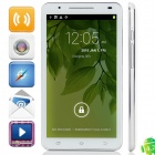 "U89 MTK6589 Quad-Core Android 4.2.1 WCDMA Bar Phone w/ 6.0"" Capacitive, FM, Wi-Fi and GPS - White"