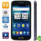 "i9500 Android 2.3.6 GSM Bar Phone w / 4,7 ""Kapazitive, Quad-Band, FM-und Wi-Fi - Schwarz + Deep Blue"