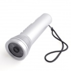 PORTWORLD ZY01 Multifunctional Outdoor Camera w/ LED Flashlight Shooting / MP3 / FM / Alarm - Silver