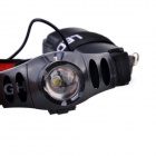 JX-01 120lm 3-Mode Cold White Zooming Headlight w/ Cree XP-E Q5, Adjusted Headband - Black (3 x AAA)