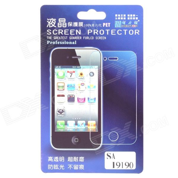 Newtop Protective Screen Protector Guard Film for Samsung Galaxy S4 Mini i9190 newtop protective clear screen protector guard film for samsung g3812 transparent