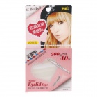 Feng Ling SB5512 Ultrathin Young Model Double Eyelid Tapes - White + Yellow (240-Pieces Pack)