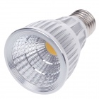 ZIYU ZY-0808-009 E27 9W 810lm 3000K COB LED Warm White Light Lamp Bulb - Silver + White (85~265V)
