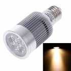 Ziyu ZY-A050-010 E27 10W 3000K 900lm 5-COB-LED Warm White Light Bulb Lamp - Silber + Weiß (85 ~ 265V)