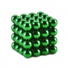 CHEERLINK ZS-64 5mm Neodymium Iron DIY Educational Toys Set - Green (64 PCS)