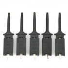 Logic Analyzer Test Clip - Black (5 PCS)