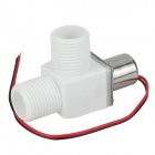 DIY Vertical Electric Pulse Valve - White + Silver