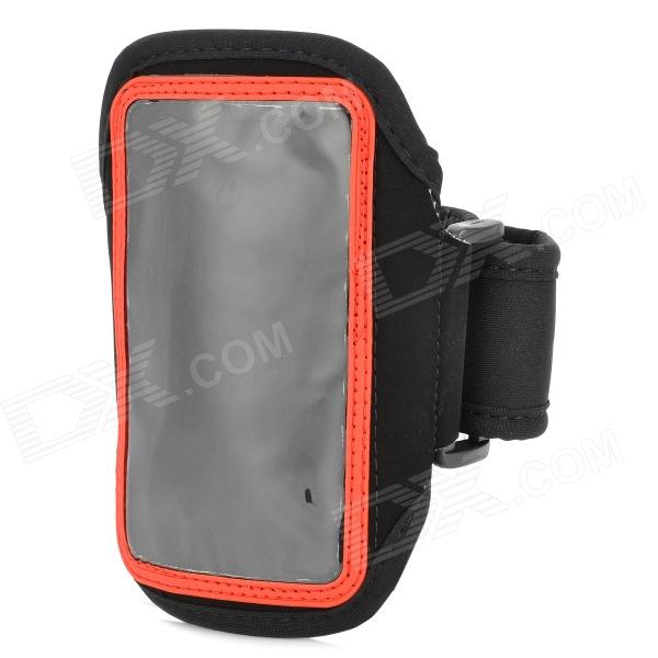 Sports Neoprene Arm Band for Samsung Galaxy  Ace 3 / S7272 / S7275 / S7270 - Red + Black