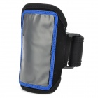 Sports Neoprene Arm Band for Samsung Galaxy  Ace 3 / S7272 / S7275 / S7270 - Blue + Black