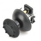 Replacement 3D Vibration Joystick w/ Cap / Anti-Slip Cover for PS3 Wireless Controller - Black