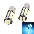 1156 7.2W 612lm 36-SMD 5050 LED Ice Blue Car Steering Light / Parking Lamp / Brake Light - (12V)