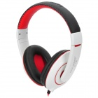 OVLENG X13 3.5mm Jack Headband Stereo Headphone w/ Microphone - Black + Red + White