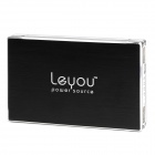 "Leyou LY-980 Dual USB ""12800mAh"" Mobile Power Bank - Schwarz"