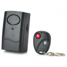 Vibration Activated 120dB Anti-Theft Security Alarm with Remote Control Keychain