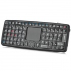 iPazzPort KP-810-22V Mini 2.4G Wireless 79-Key Keyboard w / Voice Control - Schwarz