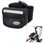 Headway G706 Cycling Bicycle Front Tube Double Side Bag - Black