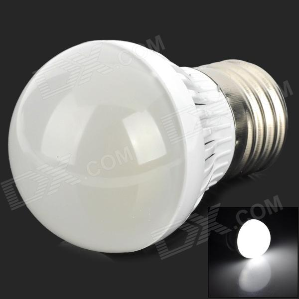 TB-PJA-3W-01-ZBG E27 3W 90lm 6500K White Light LED Bulb - White