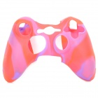 Protective Soft Silicone Case for XBOX360 Controller - Red + Purple
