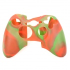 Protective Soft Silicone Case for XBOX360 Controller - Red + Green