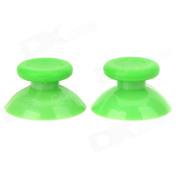 Replacement ThumbStick Joystick Caps for XBOX360 Controller - Green (2 PCS)