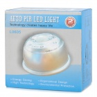 6V 6-LED del cuerpo humano Light Sensor - Blanco