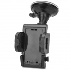 Universal Car Mount Holder w/ Suction Cup for GPS + Cell Phone - Black