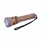 TrustFire TR-DF002 3 x Cree XM-L2 T6 1500lm 2-Mode White Diving Flashlight - Dark Khaki (2 x 26650)