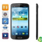 "MoreFine S6 Quad-Core Android 4.2 WCDMA Bar Phone w / 6.5 ""1080P FHD, Wi-Fi, 16GB ROM und GPS - Schwarz"