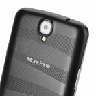 "MoreFine S6 Quad-Core Android 4.2 WCDMA Bar Phone w/ 6.5"" 1080P FHD, Wi-Fi, ROM 16GB and GPS - Black"