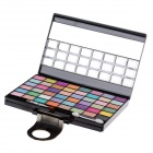 ADS 6495 Cosmetic Make-Up 48-Color Eye Shadow Kit with Mirror & Brush - Multicolored