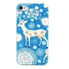 Little Fawn Style Protective Plastic Case for iPhone 4 / 4S