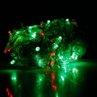 Decoration 8W 720lm 100-LED Party Holiday RGB String Light - White (220V / 10m / EU Plug)