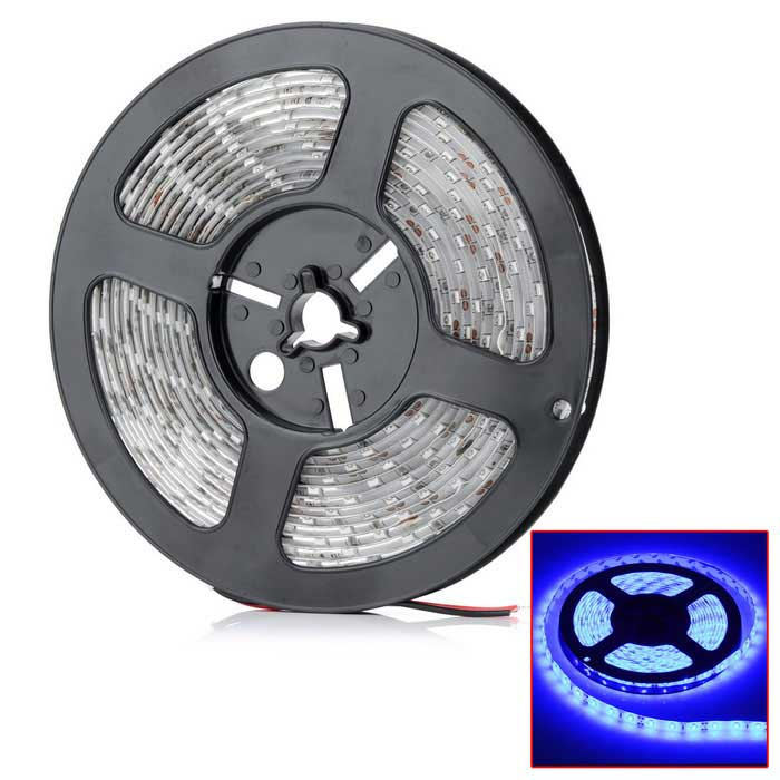 Light Blue Light flexible impermeable decoración del coche de Gaza (5m / DC 12V) 90W 7200lm 300-SMD 5630 LED
