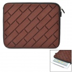 Protective Sponge + Neopren-Anti-Shock Inner Bag für iPad 1/2/3/4 - Coffee
