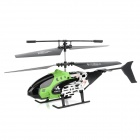 Chuang Hang H38 2.5-CH IR Remote Control R/C Helicopter - Green + Black + Silver