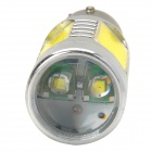 HX-16W 900lm 6500K White Light Car Farol w / 2-Cree XP-E LED + 4 COB - Prata + Amarelo (10 ~ 30V)