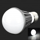 YP-QP-5W-ZBG-01 E27 5W 150lm 6500K 10-SMD 5730 Cool White Light Bulb - White + Black