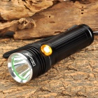 UltraFire AF-50 CREE XM-L U2 600lm 3-Mode White Flashlight - Black (1 x 18650 / 26650)