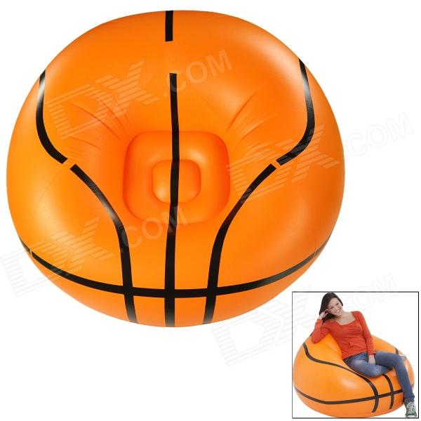 Basketball Style PVC Air Inflatable Chair - Orange + Black тонер картридж cactus cs o530m