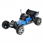 WLtoys L202 PRO 1:12 Scale 2-CH Two-Wheel Drive 2.4GHz Radio Control R/C Racing Car - Blue + Black
