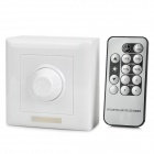 300W 90~240V LED IR Dimmer w/ Remote Control - White + Grey