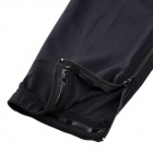 NUCKILY Elastic Fiber Sports Cycling Trousers for Men - Black (Size-L)
