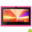 "Q88 7"" Android 4.2 Tablet PC w/ 512MB RAM / 4GB ROM / G-Sensor - Pink"