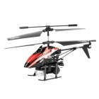 WLtoys V757 3.5-CH IR Controlled R/C Blowing Bubbles Helicopter w/ Gyro / Colorful Light LED - Red